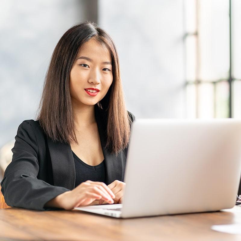 Japan-UK Japanese Businesswoman