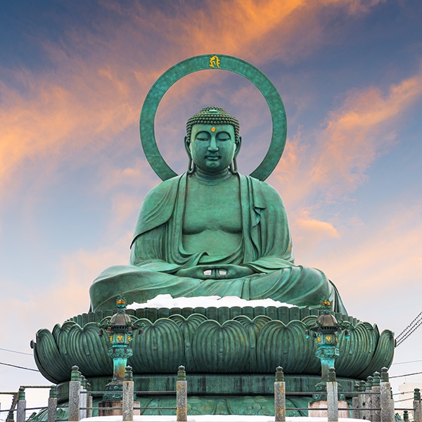 Takaoka, Japan at the Great Buddha.